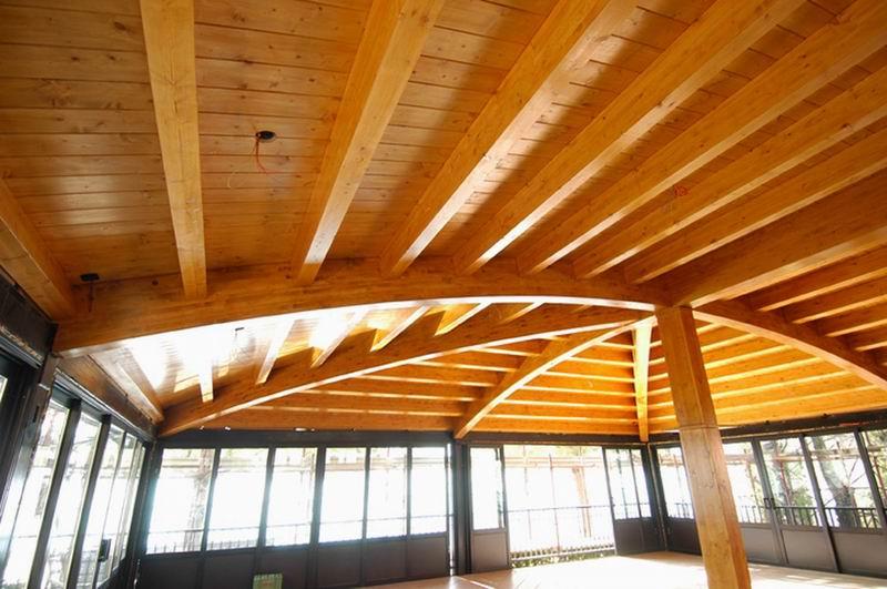 Copertura In Legno Ventilata : Costruzione tetti in legno lamellare ventilato mariana luigi